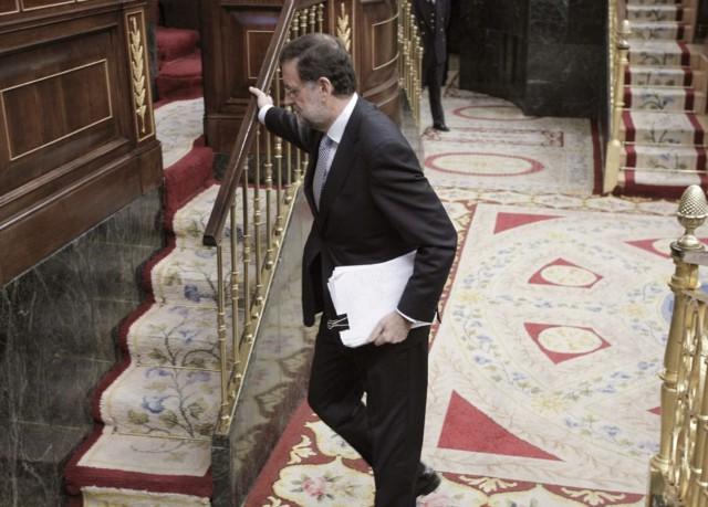 Mariano Rajoy, presidente del Estado Español.