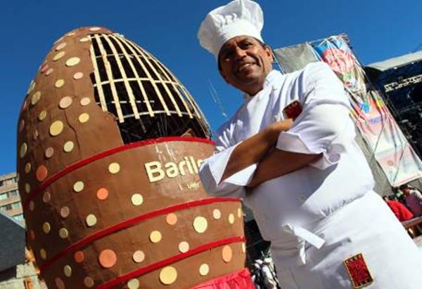 Bariloche no podría vivir sin chocolate.