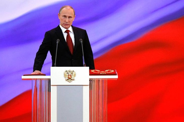 Vladimir Putin, presidente de la Federación Rusa.