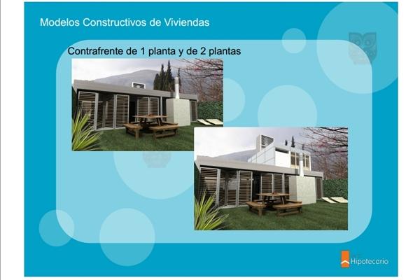 Cr ditos procrear ya se conocen los modelos de viviendas for Modelo casa clasica 2 dormitorios procrear