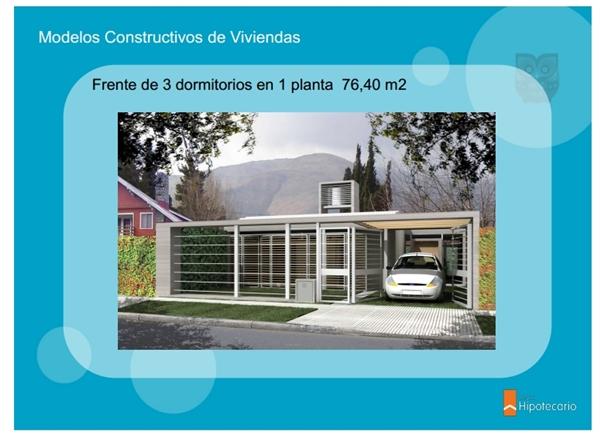 Cr ditos procrear ya se conocen los modelos de viviendas for Modelos viviendas procrear