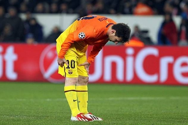 Messi lesionado