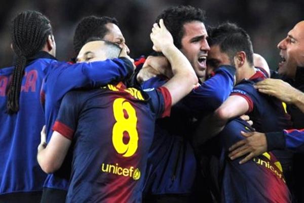 barcelona gol 13