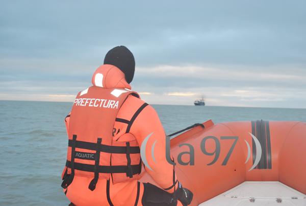 Navegación al encuentro del buque TOBAGO BAY