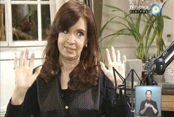 Cristina nota TV