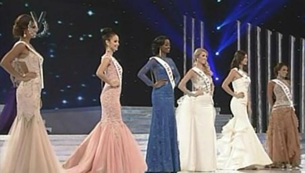 Las representantes de Filipinas, Brasil, Australia, Francia, Nepal, Inglaterra, Indonesia, España, Jamaica y Ghana