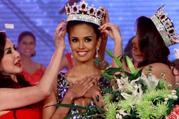 Megan Young, la filipina es Miss Mundo 2013.