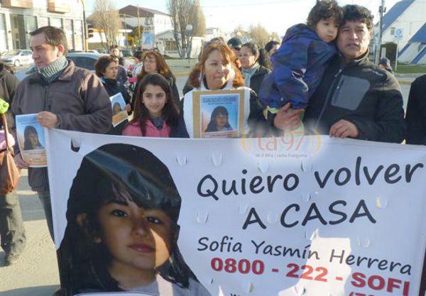 Los padres y la hermana de Sofía Herrera pidieron por su aparición, a cinco años de angustiosa búsqueda.