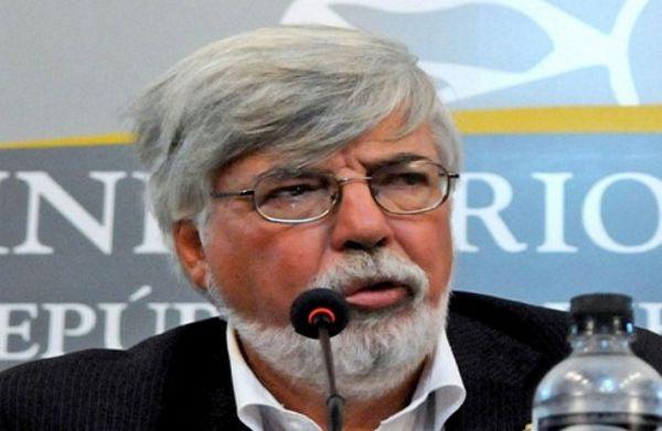 El ministro del Interior de Uruguay, Eduardo Bonomi. (Foto telam)
