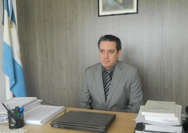 Diego Vernaz , Director del Servicio Penitenciario de Tierra del Fuego,