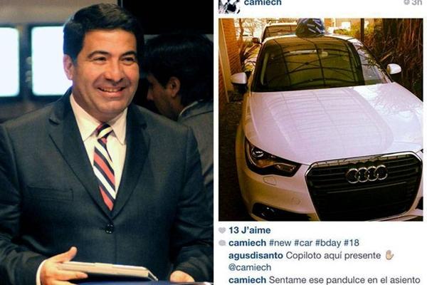 El titular de la AFIP no reparó en gastos para el cumpleaños de su hija.