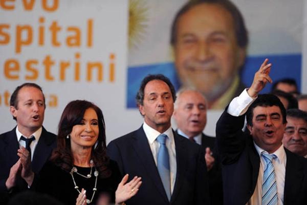 """La presidenta Cristina Fernández de Kirchner, encabezó esta tarde el acto de inauguración del hospital materno-infantil """"Alberto Balestrini"""" en la localidad bonaerense de Ciudad Evita, partido de La Matanza."""