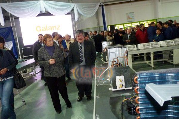 La nueva planta fabril insumió una inversión de 60 millones de pesos.