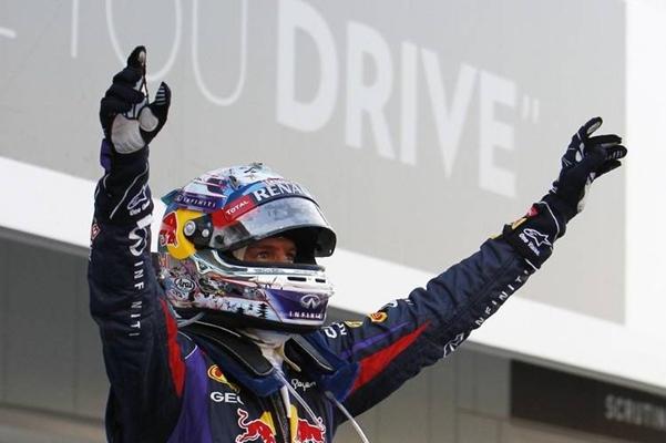 Vettel podio 13