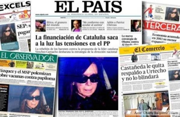 diarios mundo CFK