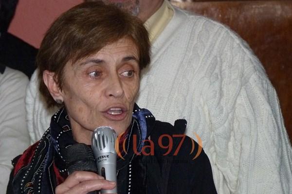 Margarita Gallardo, directa del IPAUSS.