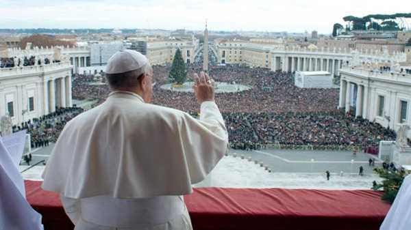 Papa Francisco_Misa de Navidad