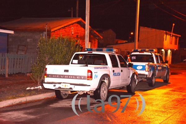 Operativo policial en la vivienda ubicada en Colón esq, Pasaje Villegas