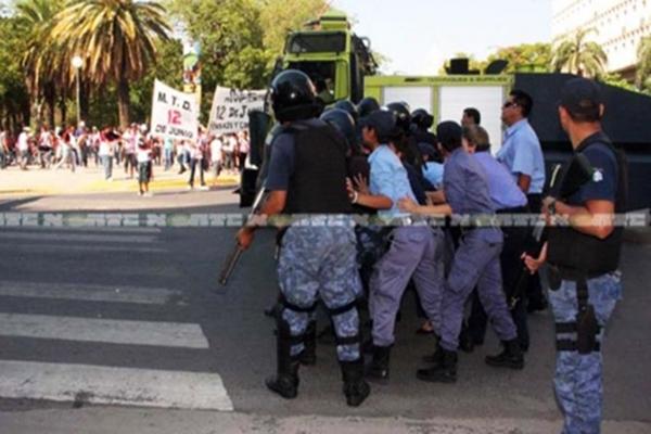 Chaco represion
