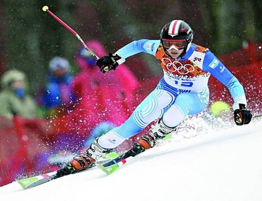 Slalom gigante. Julietta Quiroga está de novia con el técnico señalado.