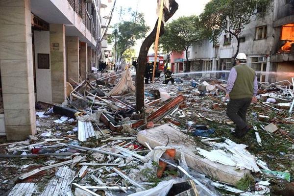 Procesaron a los once imputados por la explosión en Rosario.