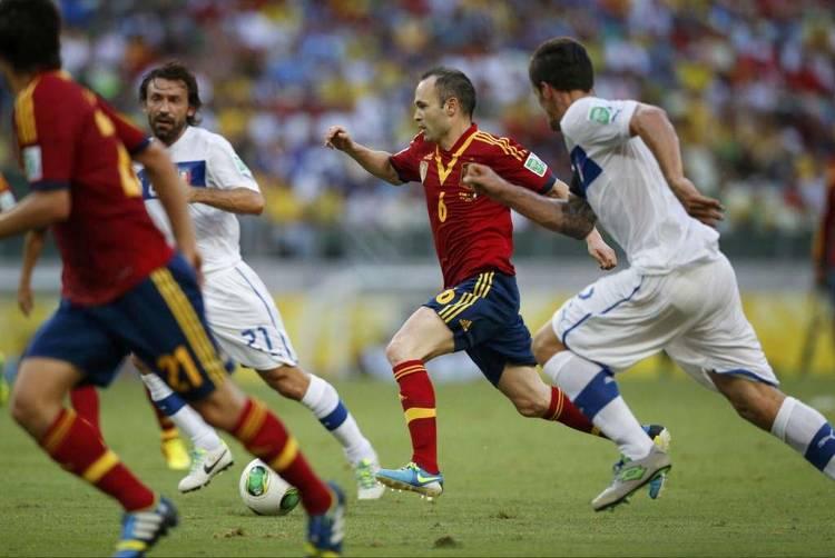 Espana Iniesta Pirlo