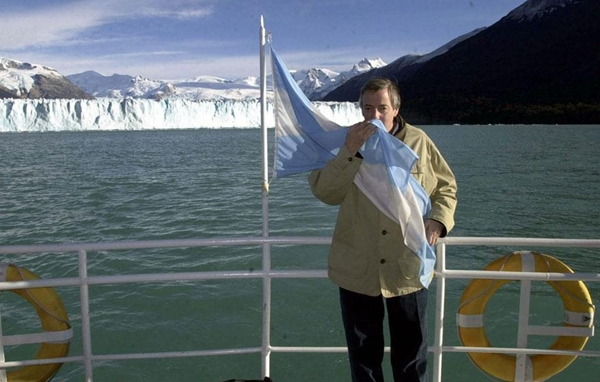 Kirchner bandera