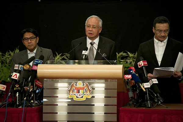 Malasia confirmacion accidente