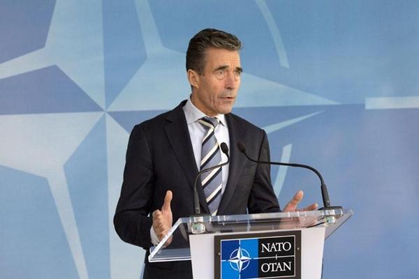 """""""La OTAN condena la escalada militar rusa""""."""