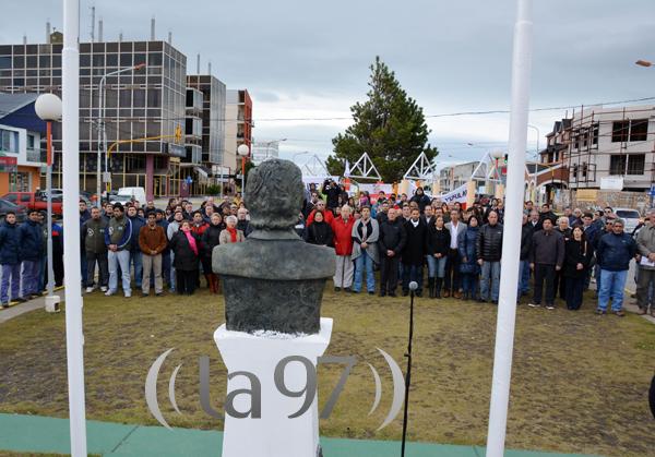 Acto homenaje a Raúl Alfonsín