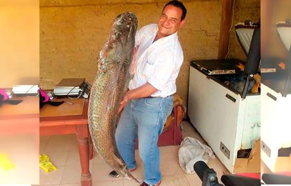 La talla habitual de esa especie es de entre 15 y 20 kilos.