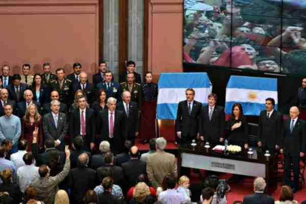 """""""Malvinas es la base militar de la OTAN en el Atlántico Sur"""", manifestó Cristina Fernández."""