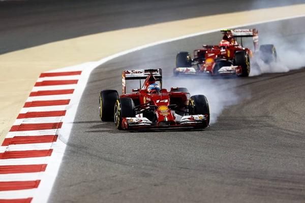 Ferrari Alonso Raikkonen Bahrein