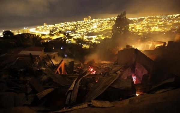 Incendio forestal_Valparaiso