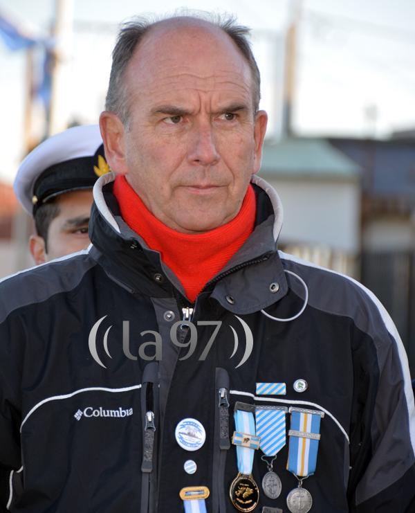 Walter Bahl, sobreviviente del Crucero Belgrano